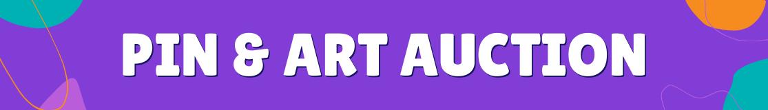 Pin & Art Auction header